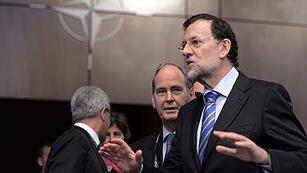 """Ver vídeo  'Rajoy: """"Lo urgente es la estabilidad financiera y la defensa nítida del euro, no los eurobonos""""'"""
