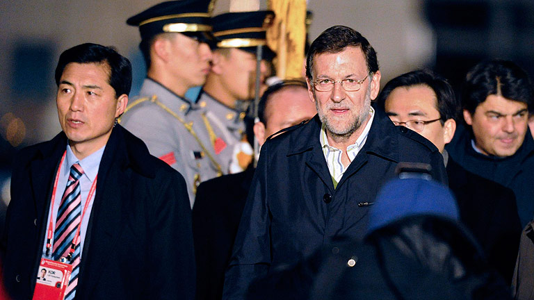 Rajoy valora positivamente el resultado del PP en las elecciones andaluzas