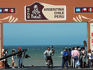 Ver vídeo  ''Rally Dakar' - Etapa 1 (Mar del Plata - Santa Rosa de la Pampa) - 01/01/12'