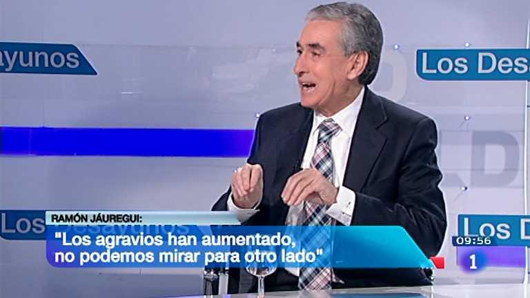 Los desayunos de TVE - Ramón Jauregui, diputado socialista y miembro del Comité Federal del PSOE
