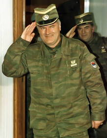 Ratko Mladic, antiguo jefe militar serbo-bosnio