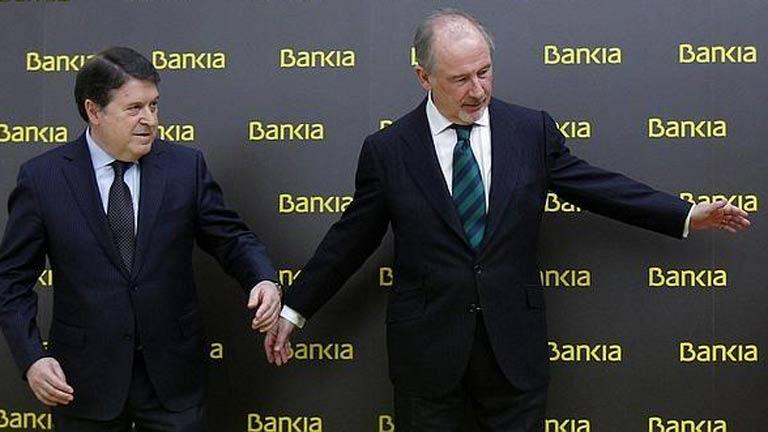 Rato, Olivas y Acebes, imputados por Bankia