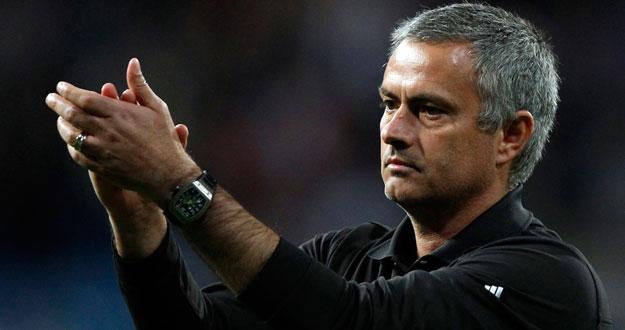 El técnico del Real Madrid, Jose Mourinho