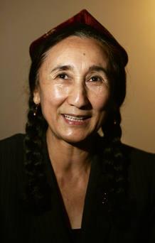Foto de archivo de Rebiya Kadeer, líder uigur en el exilio.