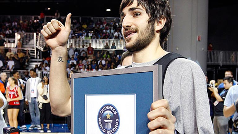 R&eacute;cord mundial para Ricky Rubio en el All Star