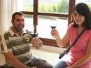 Recorriendo los viñedos de los Cortázar