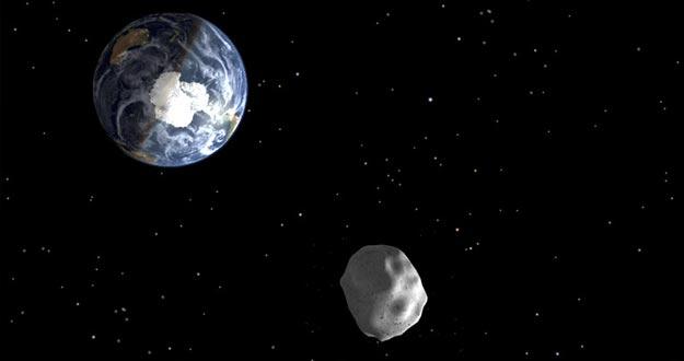 Recreación del asteroide que impactó en Rusia