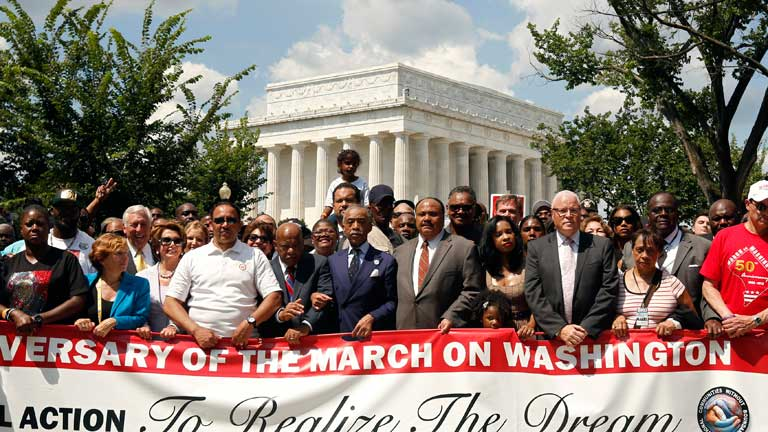 Jornada de recuerdo a Martin Luther King en Washington