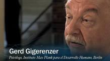 Gerd Gigerenzer, director del Centro para la Conducta Adaptativa y la Cognición del Instituto Max Planck