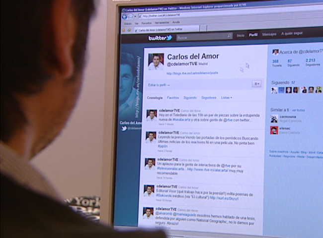 Redes sociales en RTVE.es