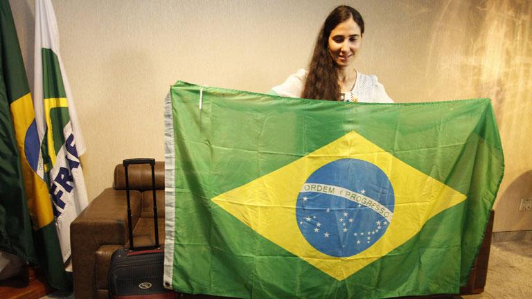 La disidente y bloguera Yoani Sánchez ha conseguido viajar al extranjero