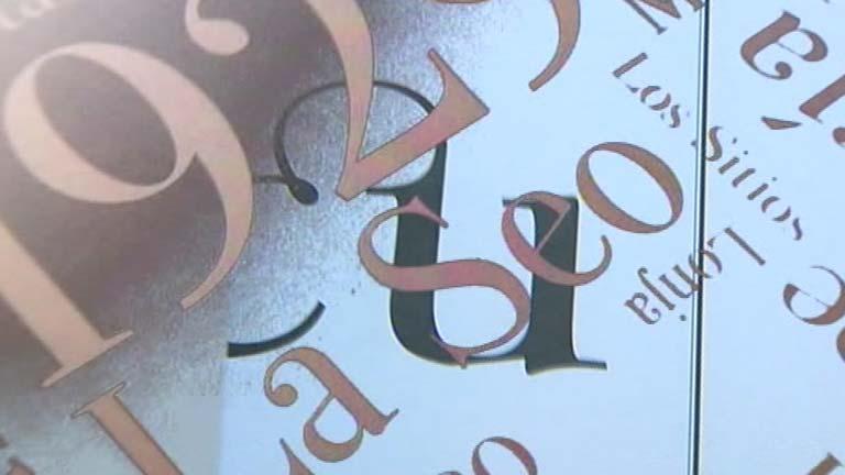 """Un diseñador gráfico crea una tipografía como """"un regalo muy especial"""""""