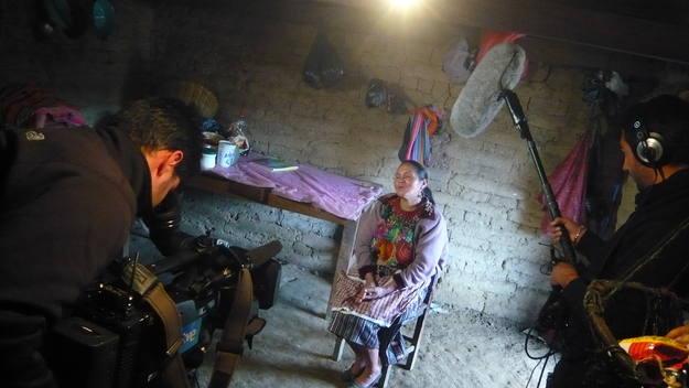 En la región del Quiché, destrozada por la guerra civil de Guatemala