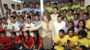 Ver vídeo  'La Reina ha iniciado hoy una visita oficial a Filipinas'