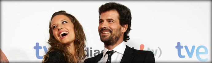 """La reina """"Isabel"""" toma San Sebastián en el nombre de la televisión"""