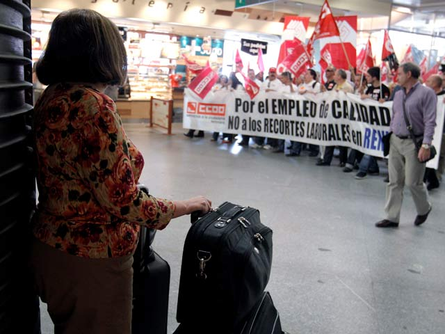 Ver v?deo  'Renfe cifra en 44 millones las pérdidas por huelgas en 2010'