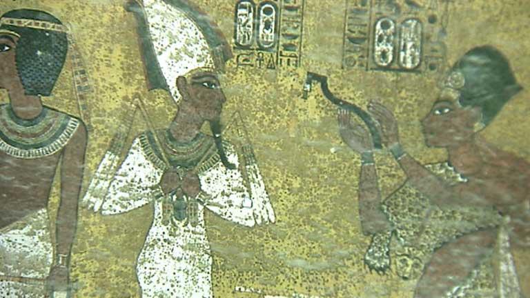 Una empresa española hace la réplica de la tumba de Tutankamón