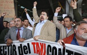 Ver v?deo  'Reporteros del telediario - Los taxistas, en pie de guerra'