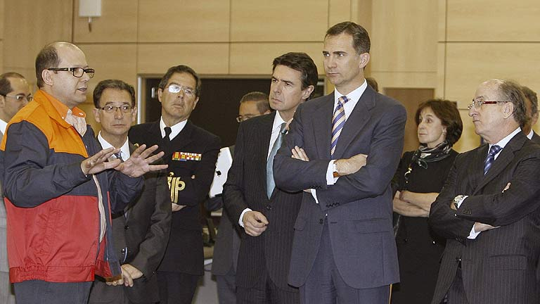 El Príncipe de Asturias ha apoyado el trabajo de Repsol