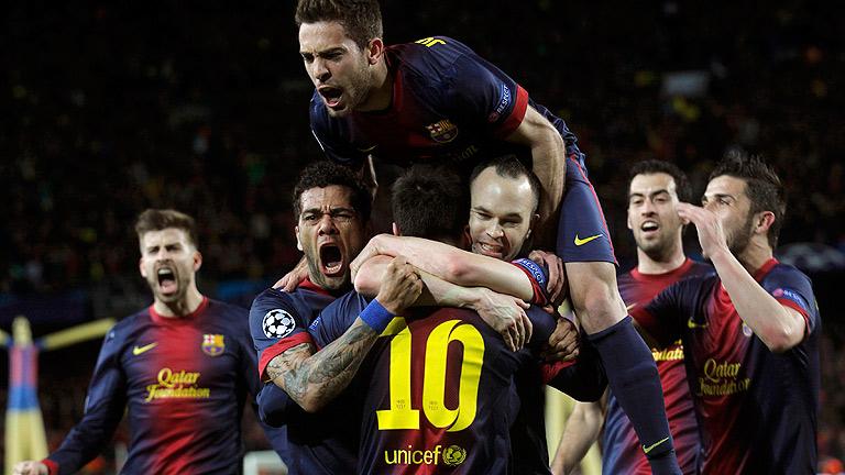 FC Barcelona 4-0 AC Milán