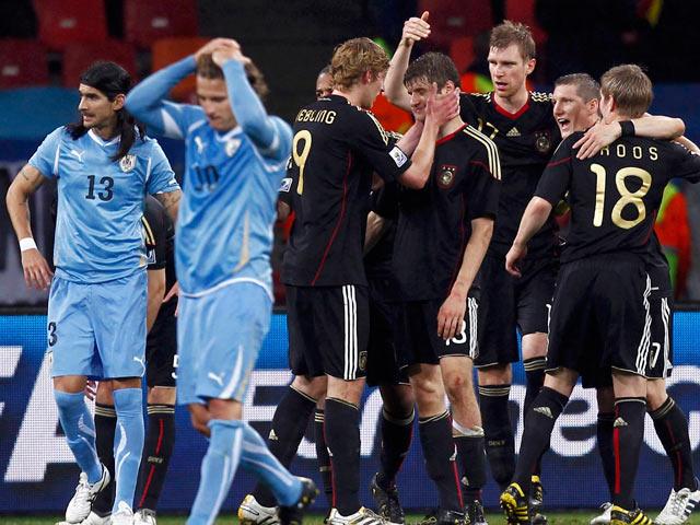 Resumen del Uruguay 2-3 Alemania