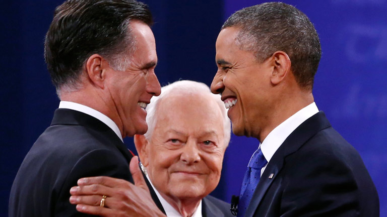 Irán y el gasto militar, principales diferencias en el tercer debate entre Obama y Romney