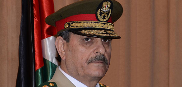 Newly appointed Syrian defence minister General Fahad Jassim al-Freij