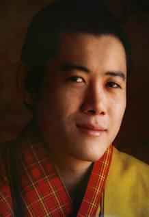 Retrato del rey de Bután
