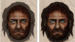 Retrato de cazador-recolector europeo de hace 7.000 años
