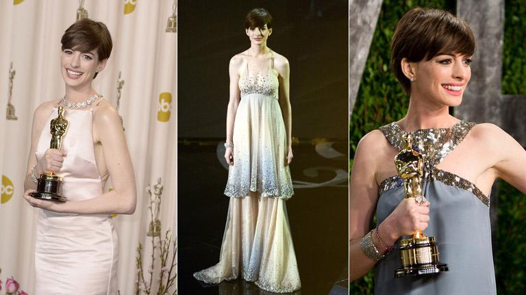 El retrovisor de los Oscar: ¿Quién lució hasta tres vestidos? ¿Quién cambió el tacón por las Converse?
