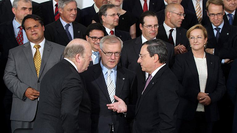 El Ecofin debate la propuesta de convertir el BCE en el gran supervisor bancario de la zona euro