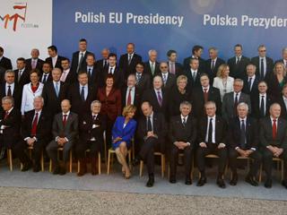 Ver vídeo  'Reunión del Eurogrupo en Polonia'