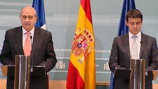 Ver vídeo  'Reunión de los ministros de Interior de Francia y España'