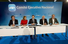 REUNI&Oacute;N DE LA NUEVA EJECUTIVA DEL PP