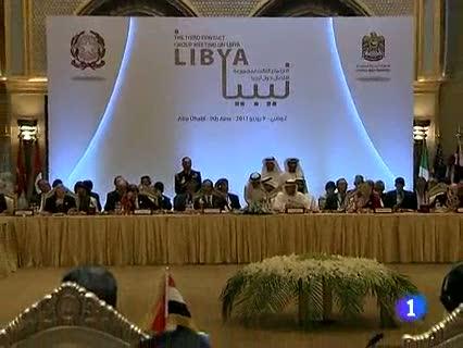 Ver vídeo  'Reunión para estudiar el futuro de Libia sin Gadafi'