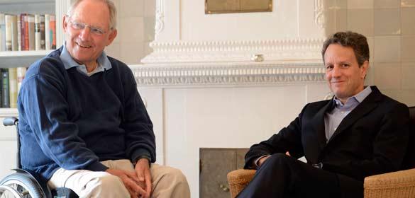Reunión de Schaeuble y Geithner
