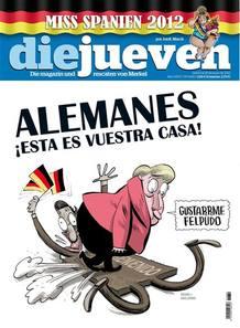 """La revista satírica """"El Jueves"""" dedica su portada de esta semana a la """"invasión"""" alemana."""