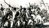 De la revolución de los esclavos a la devastación