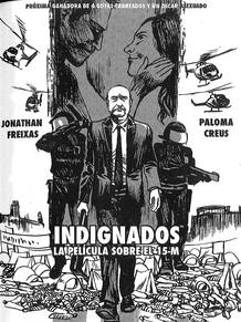 'Revolution Complex'; página de 'Indignados, la película del 15-M', de Marcos Prior