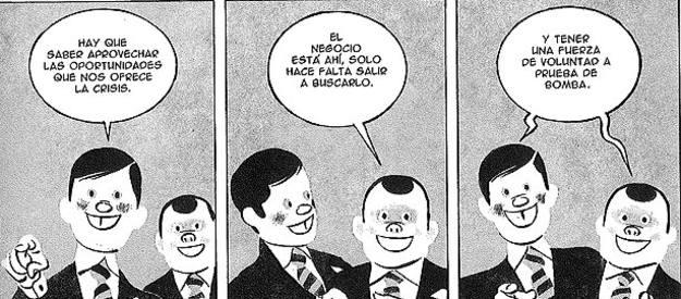 'Revolution Complex'; viñetas de 'Cortar y cubrir', de Marcos Prior y Danide