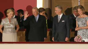 Ver vídeo  'El rey Alberto II de Bélgica se despide'