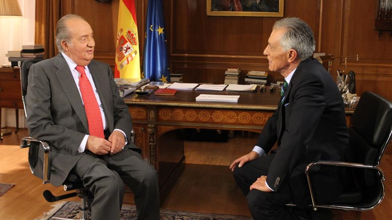 El rey analiza los logros y dificultades de Espa&ntilde;a en una entrevista exclusiva con TVE