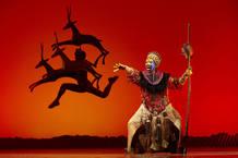 'El rey león' triunfa en Broadway y en la Gran Vía