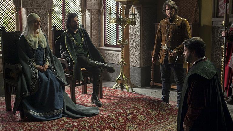 Isabel - Los reyes pacifican Sevilla