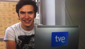 Ricardo Gómez, en directo en RTVE.es