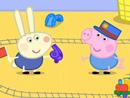Imagen del  vídeo de Peppa Pig titulado RICHARD RABBIT VIENE A JUGAR
