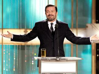 Ver v?deo  'Ricky Gervais protagonista de la gala de entrega de los Globos de Oro'