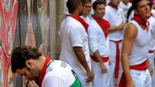 Ver vídeo  'RNE te narra el séptimo encierro de San Fermín 2012 en imágenes'