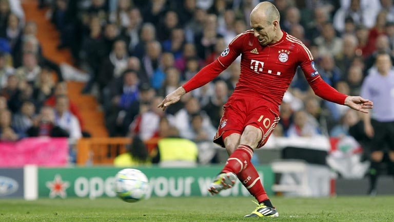 Robben empata la eliminatoria de penalti (2-1)