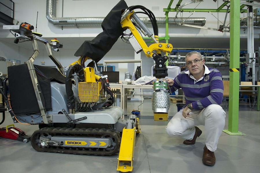 Un robot de rescate